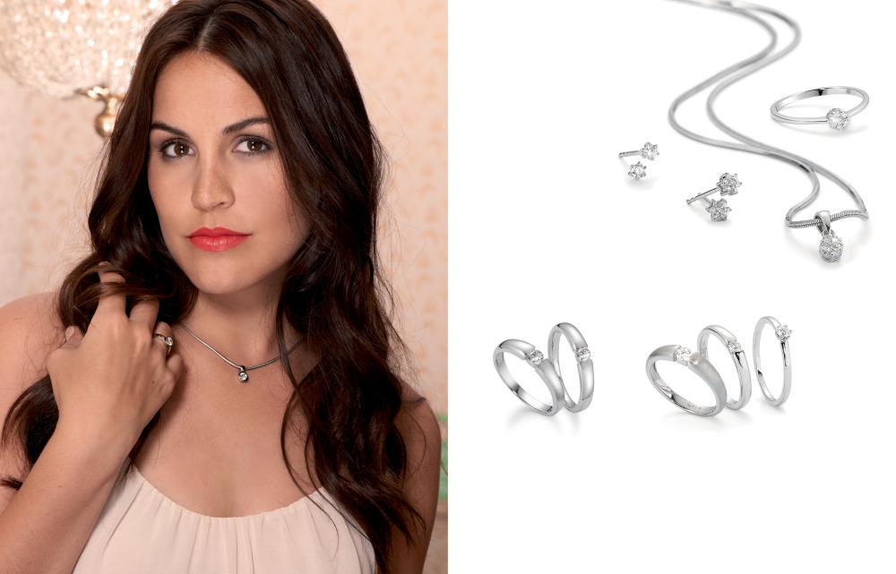 16130 750 Weissgold Diamant Solitär