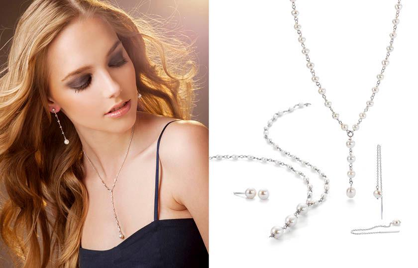 17339 Silber Perlen