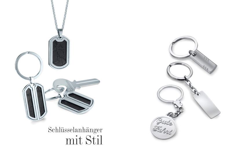 17570 Edelstahl Schlüsselanhänger