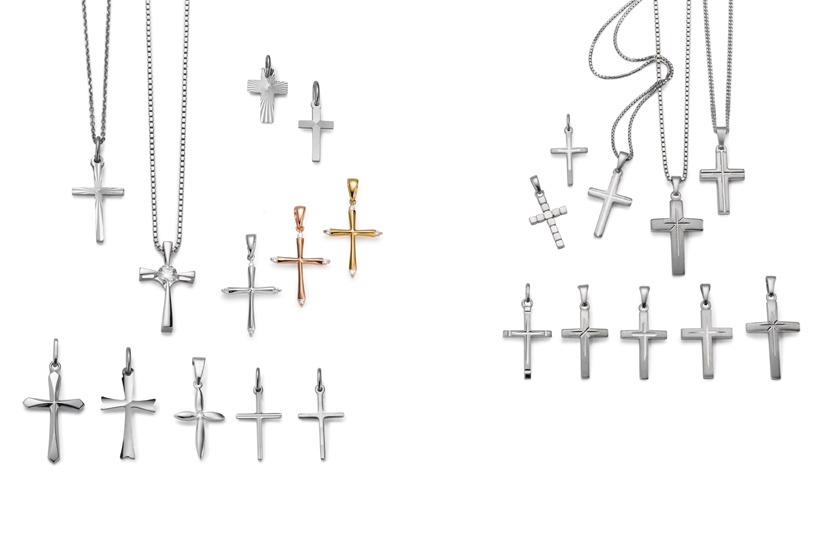 18067 Silber Kreuz