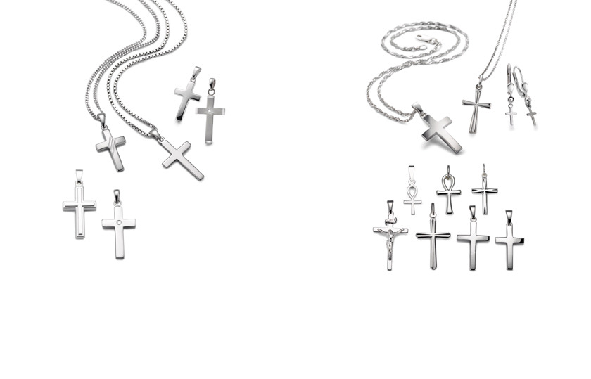 18086 Silber Kreuz