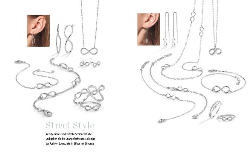 21928 Silber Infinity Symbole