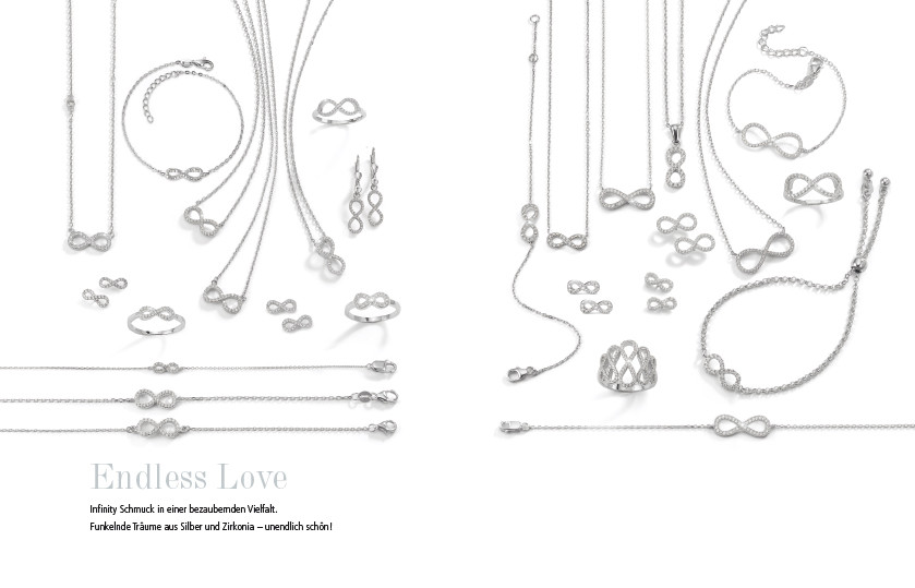 21930 Silber Infinity Symbole