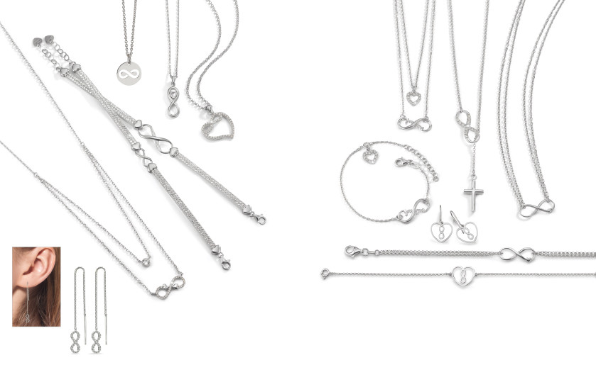 21935 Silber Infinity Symbole