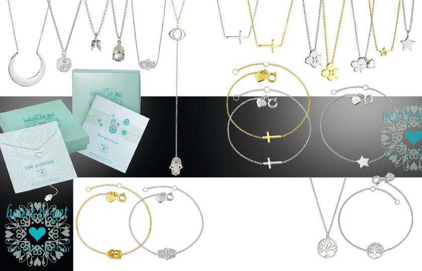22089 Heart to Get Silber Symbole
