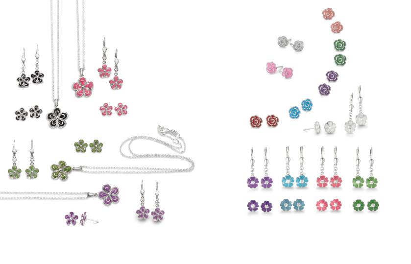 22450 Silber Blumen