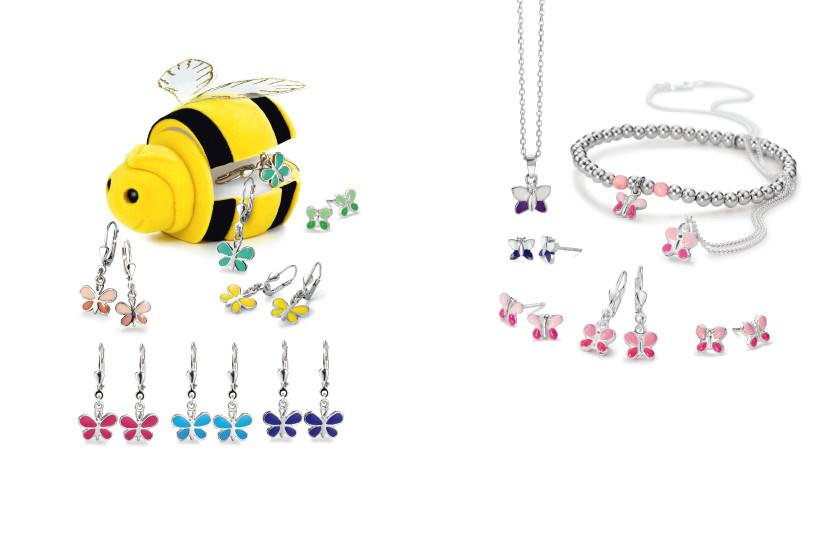 22479 Silber Schmetterling Tiere