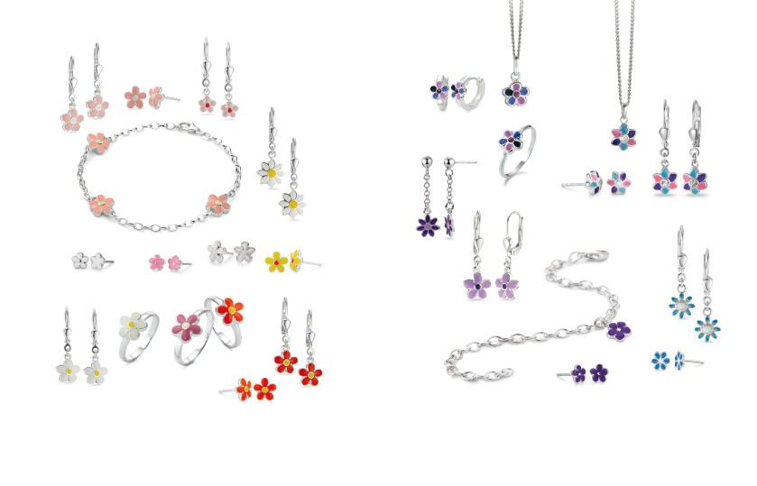 22512 Silber Blumen