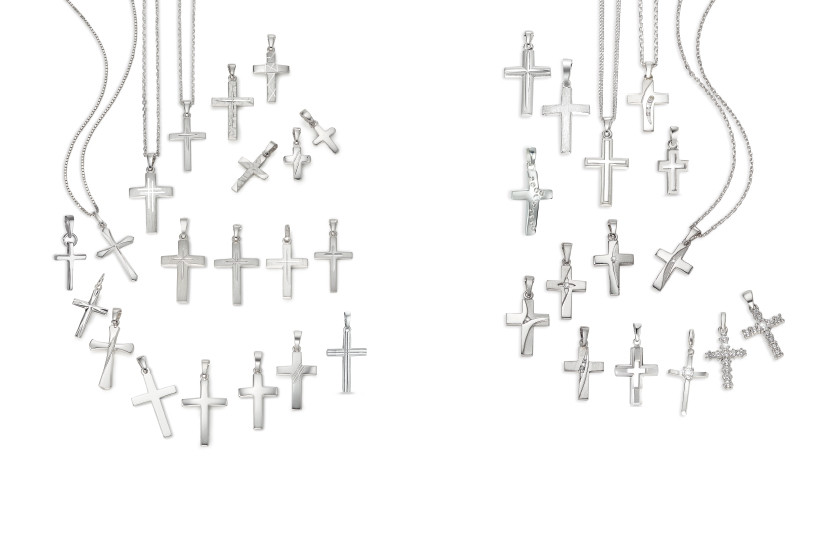 22547 Silber Kreuz