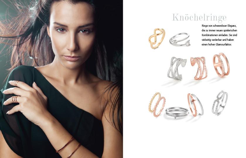 21953 Silber / Edelstahl Midi Ringe